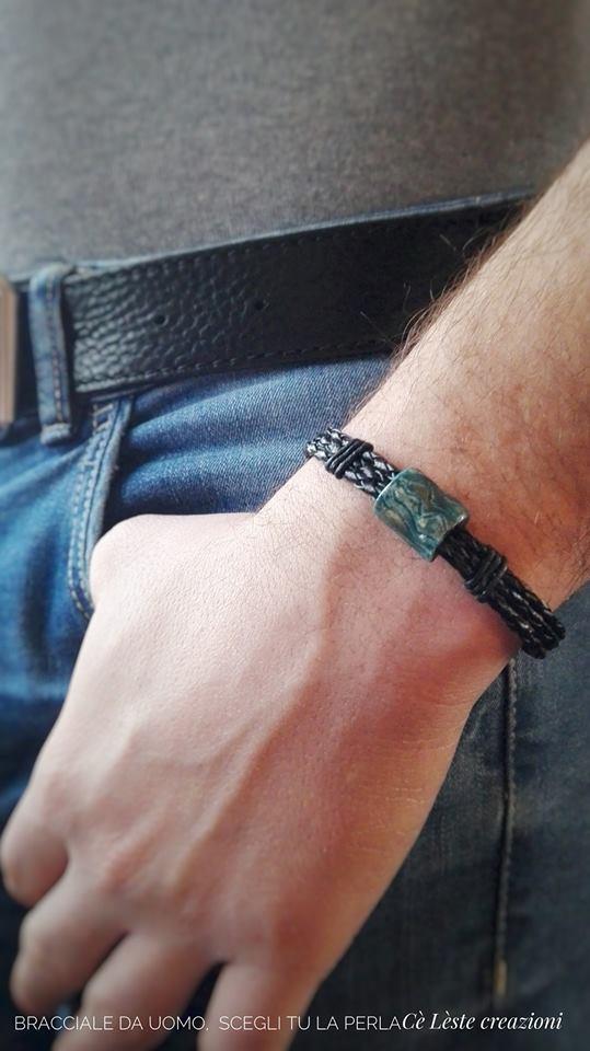 idee regalo per san valentino per lui- bracciale perosnalizzato