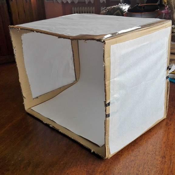 Ligh box fai da te DIY - Istruzioni per la creazione