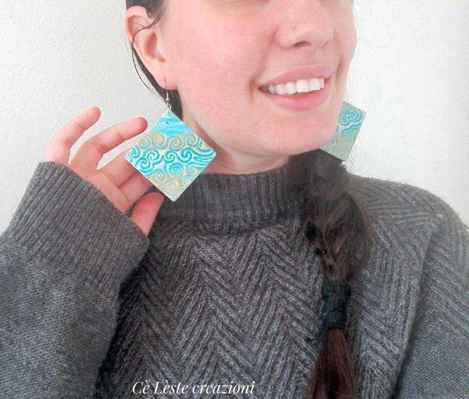 orecchini free nichel personalizzati